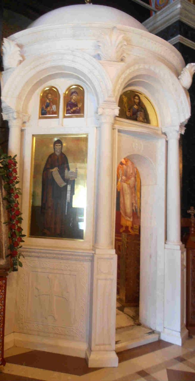 киворий с мощами Святого Антония Верийского