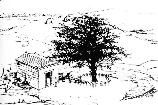 священный дуб в додони