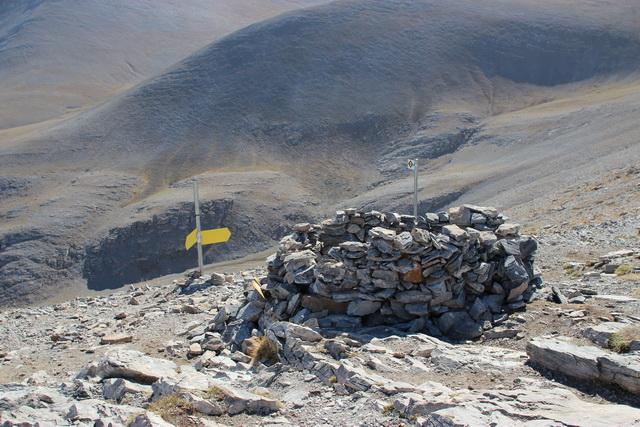 вершина горы Олимп