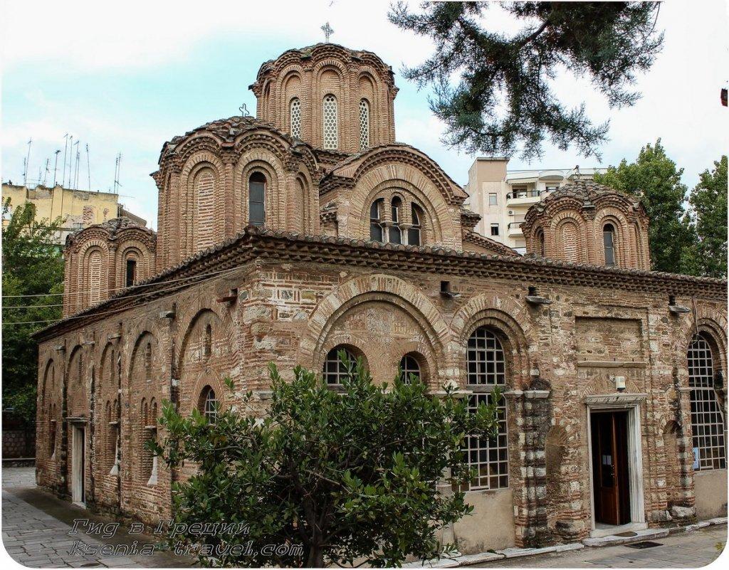 храм двенадцати апостолов, достопримечательности салоники