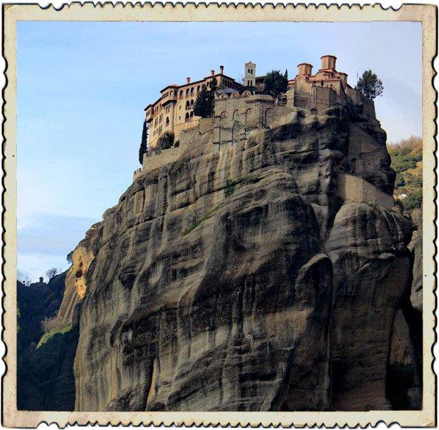 монастырь всех святых, греция метеоры