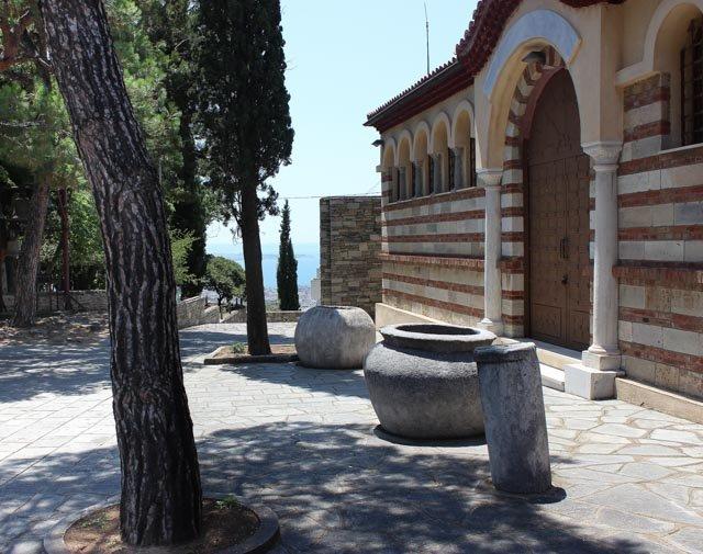 монастырь влатадон, достопримечательности Салоники