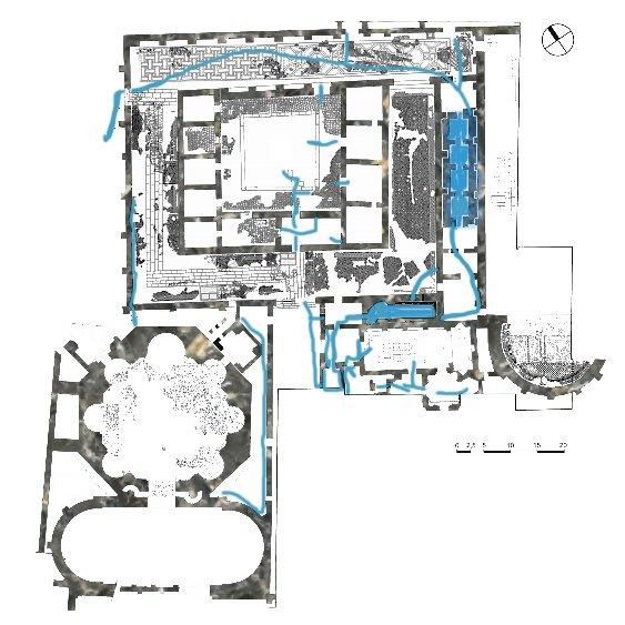план дворца Галерия, достопримечательности Салоники
