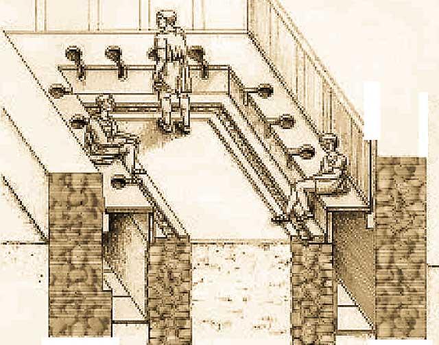 туалеты дворца галерия, достопримечательности Салоники