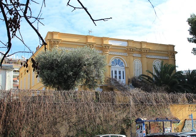 здание архива Македонии, достопримечательности Салоники