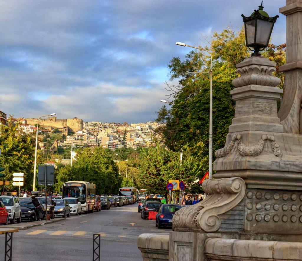 синтривани фонтан, достопримечательности Салоники