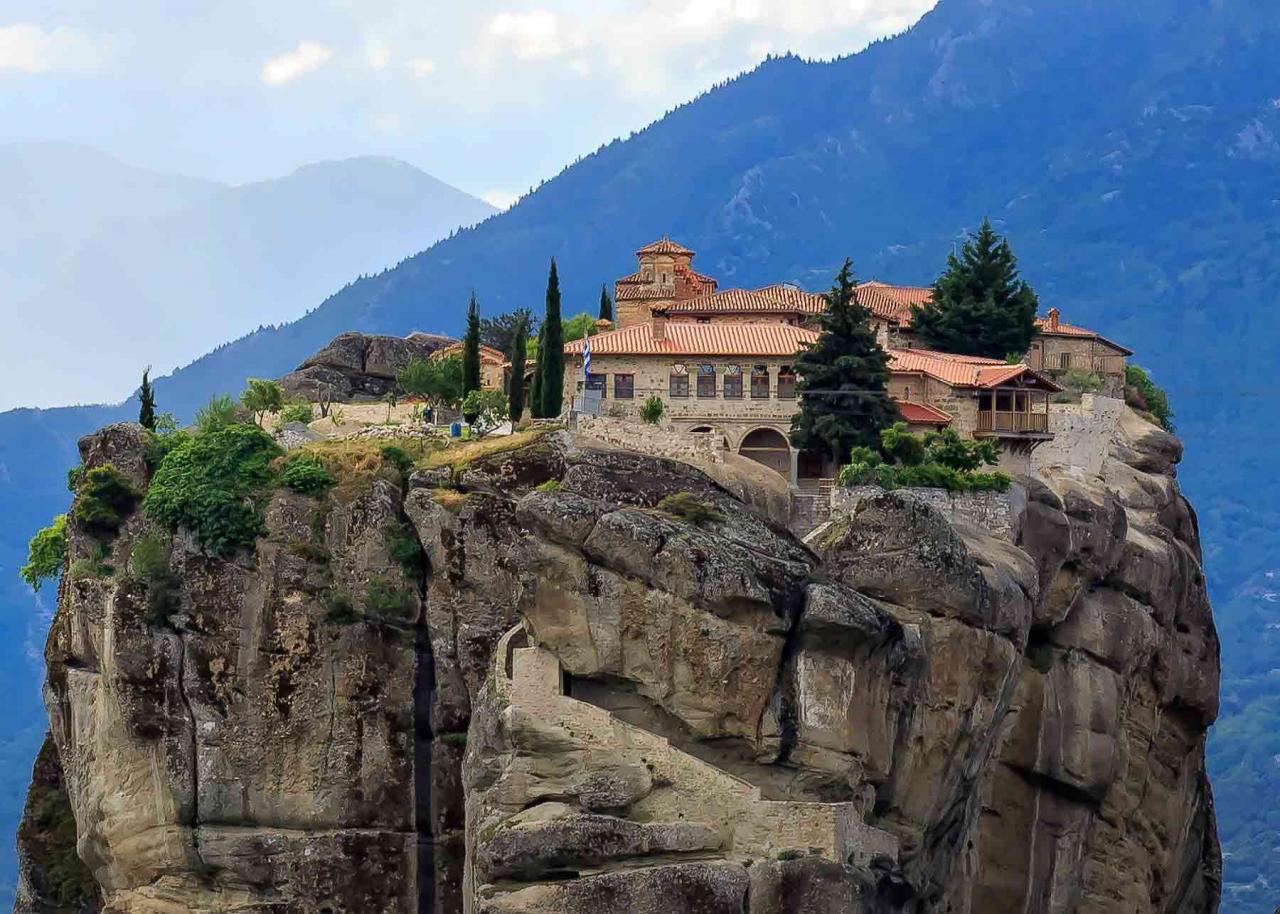 Экскурсии в Монастыри Метеоры, Греция