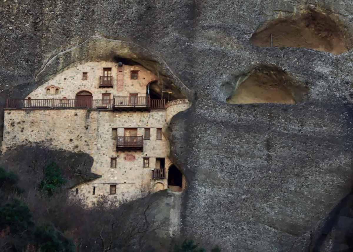 скит Николая Бадова, экскурсии в Метеоры, Греция