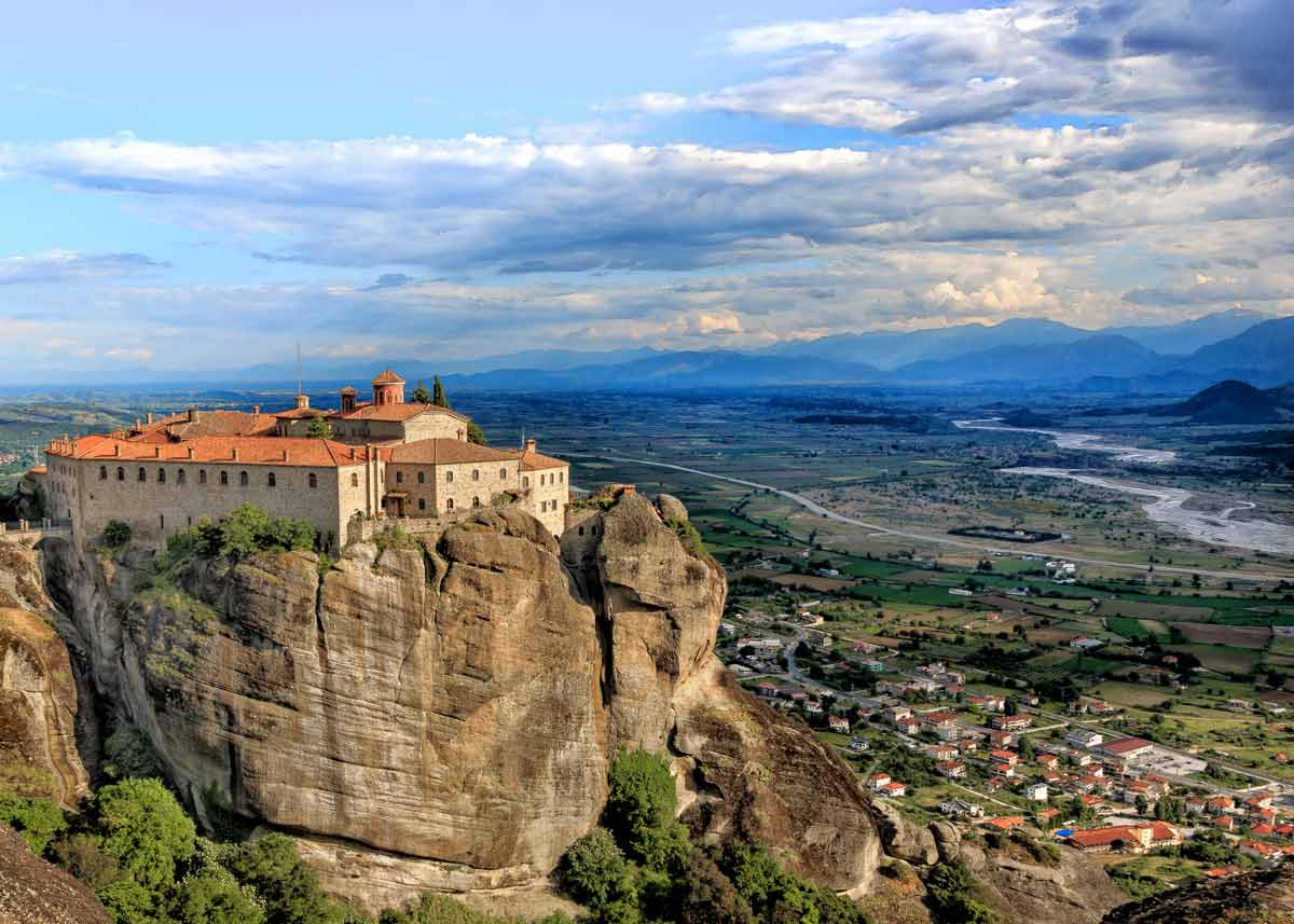 монастырь святого стефана, метеоры в греции, фото