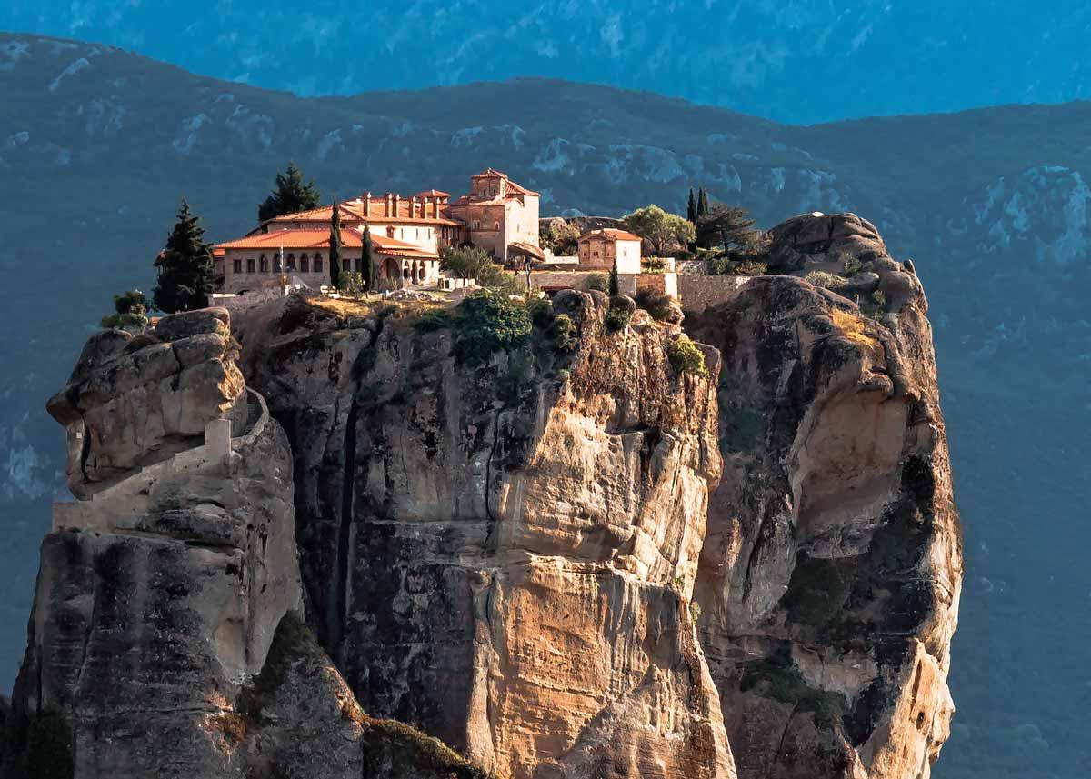 Монастырь святой Троицы, Метеоры Греции, фото