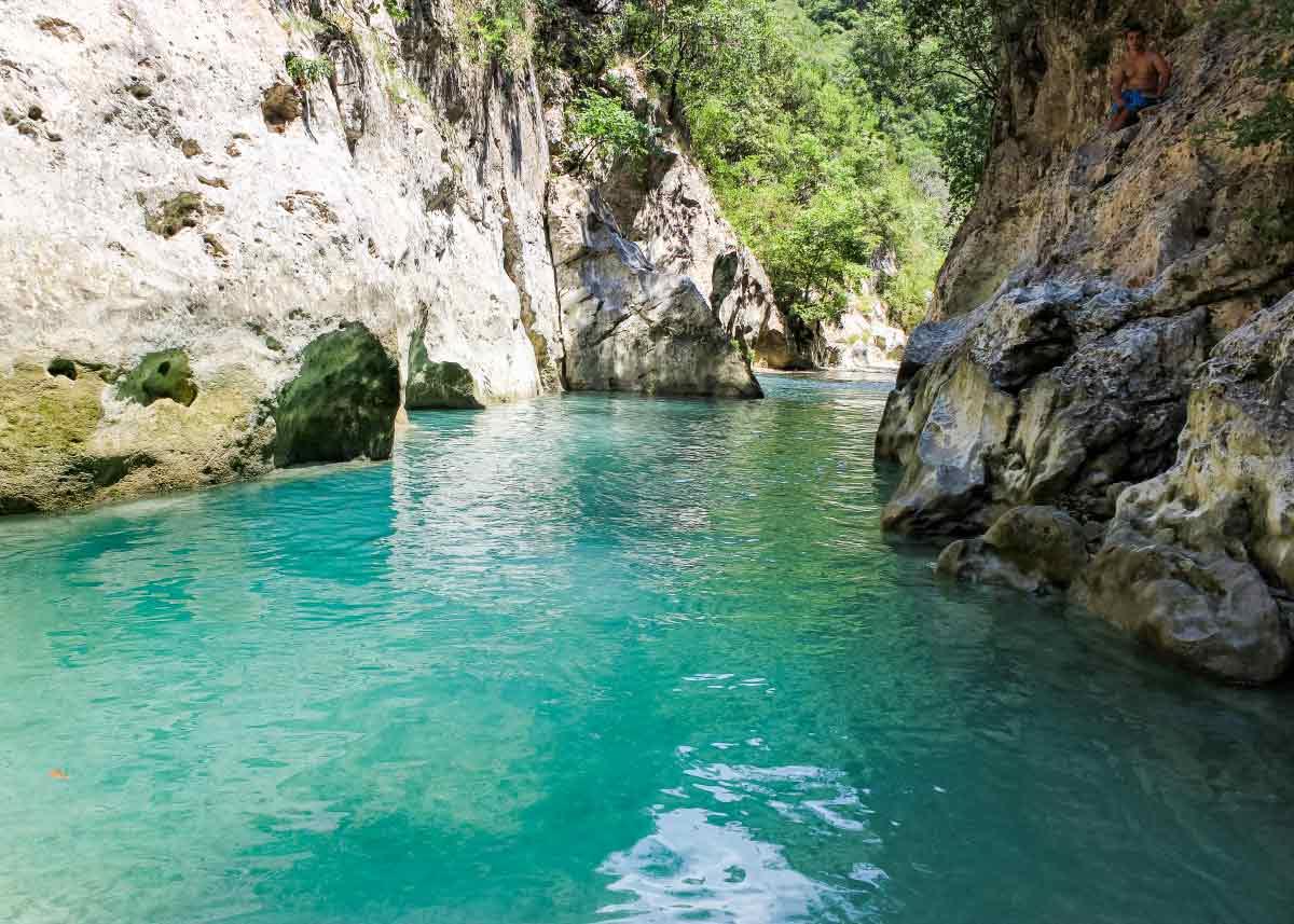 река Ахерон, Греция