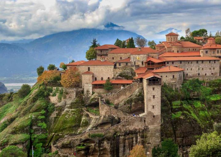 монастырь великий метеор