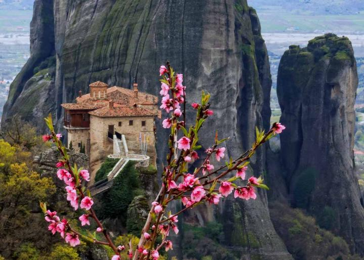 монастырь Варвары, Метеоры Греция, фото.