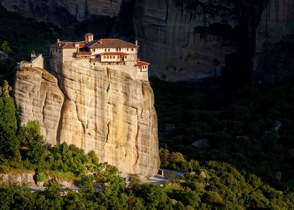 Монастыри Метеоры, Греция. Монастырь Русану