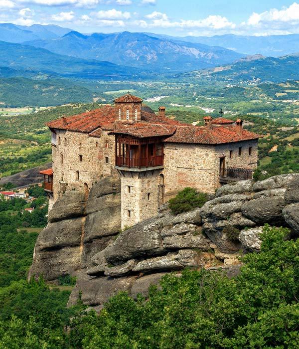 монастырь Русану, экскурсии в монастыри Метеоры, Греция