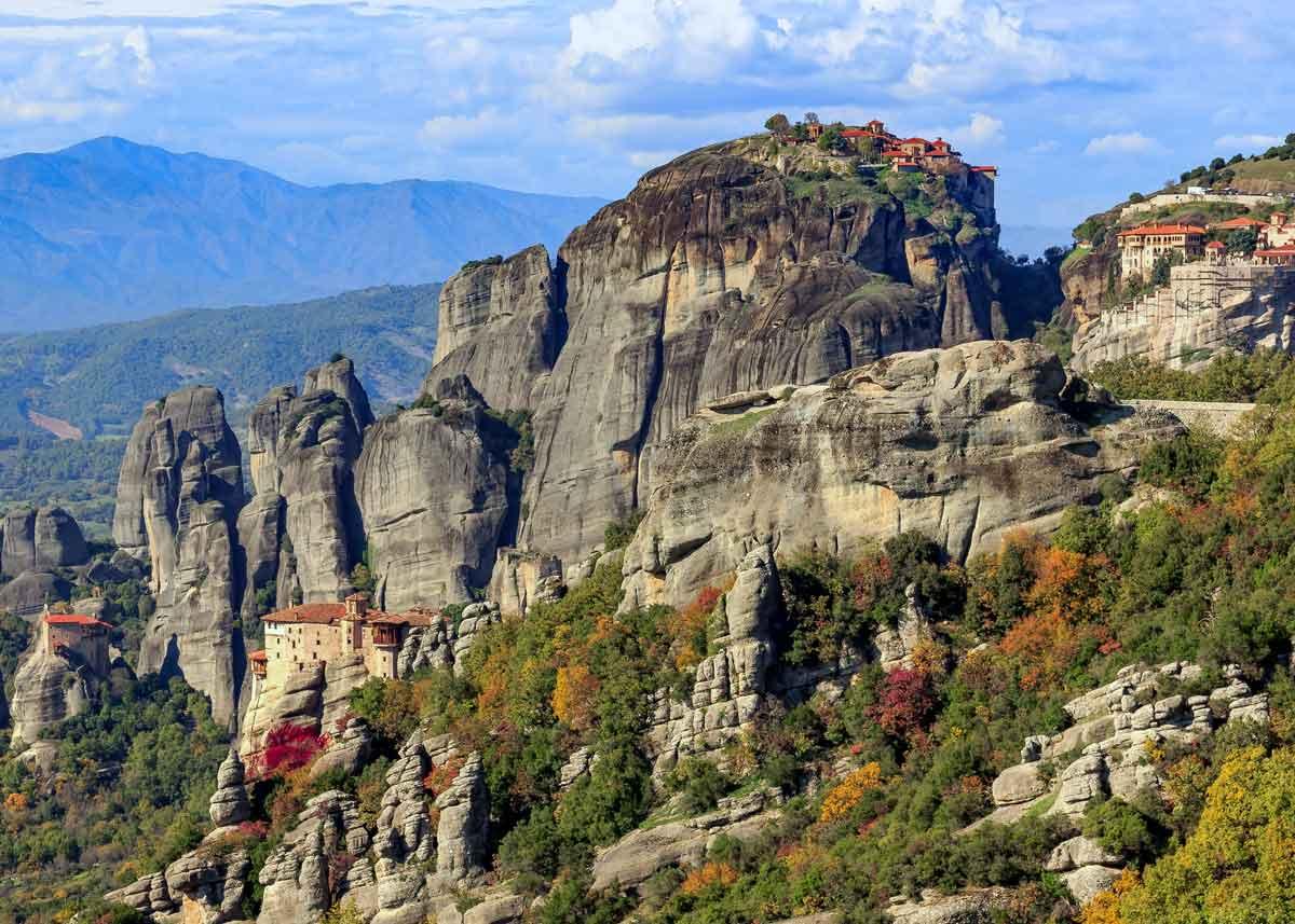 монастыри Метеоры, Греция: история, фото