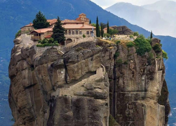 монастырь Святой Троицы, Метеора Греции