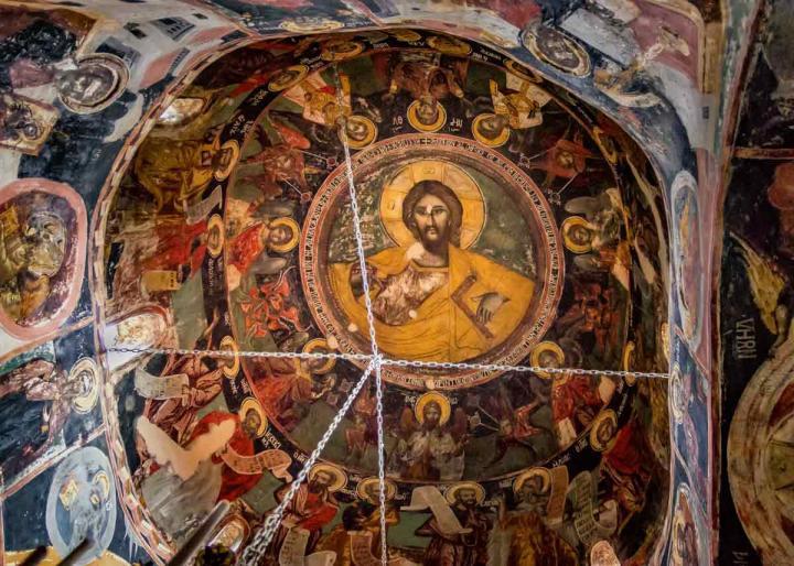 купол Святой Троицы, Метеоры, Греция