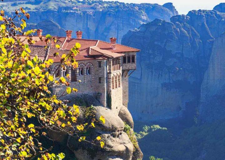 Метеоры, Греция, экскурсия. Монастырь Варлаама