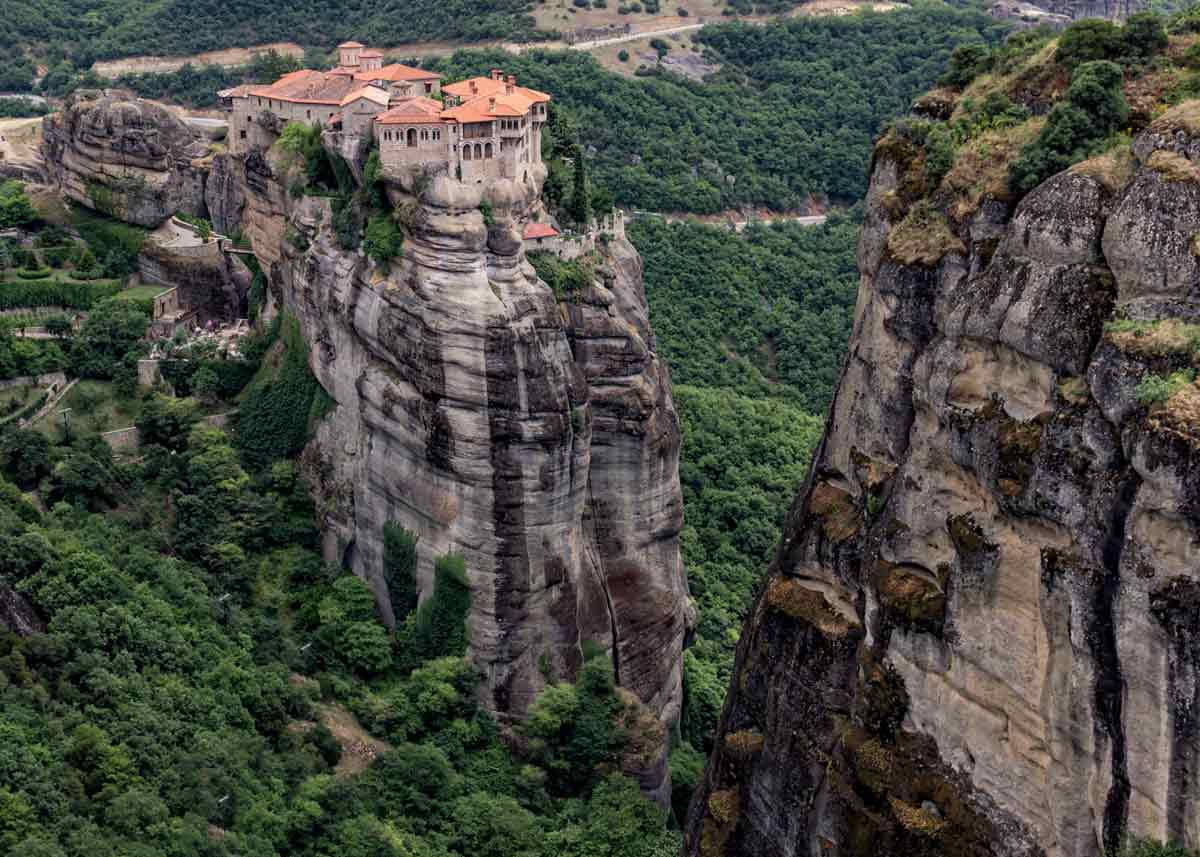монастырь Варлаама, метеоры в греции