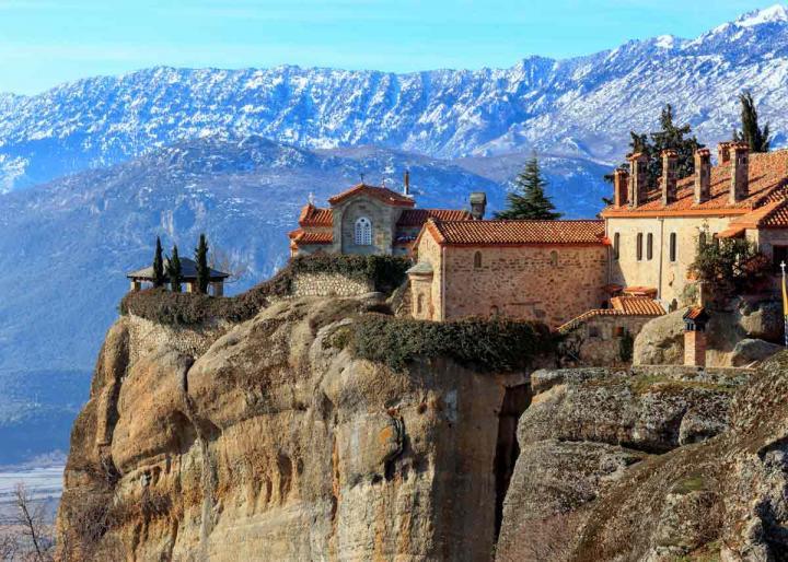 Монастыри Метеоры Греция, фото