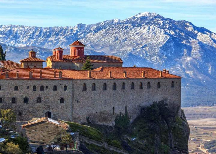монастырь стефана, метеоры фото