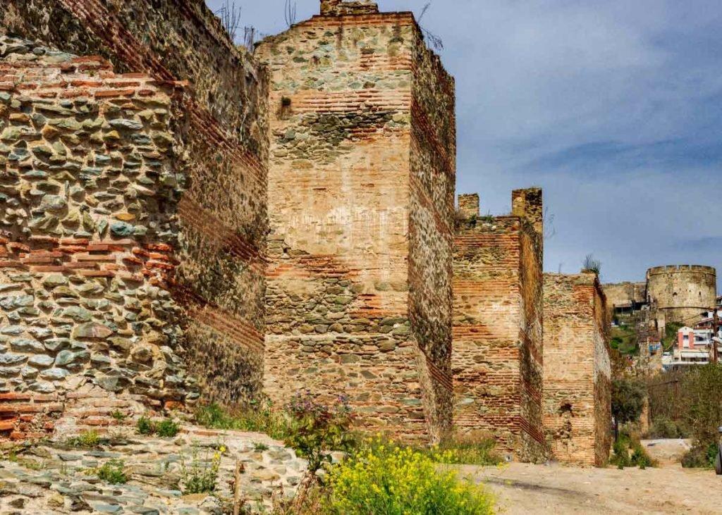восточная крепостная стена, достопримечательности Салоники