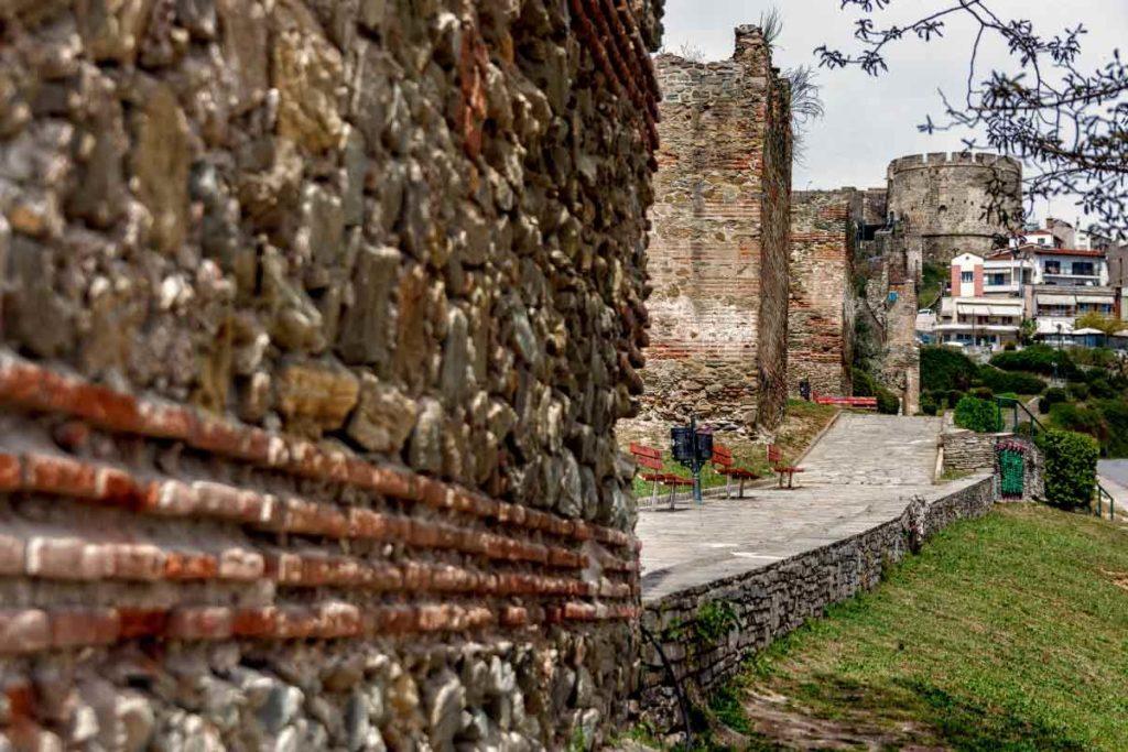 крепостные стены Салоники, экскурсии по Салоникам