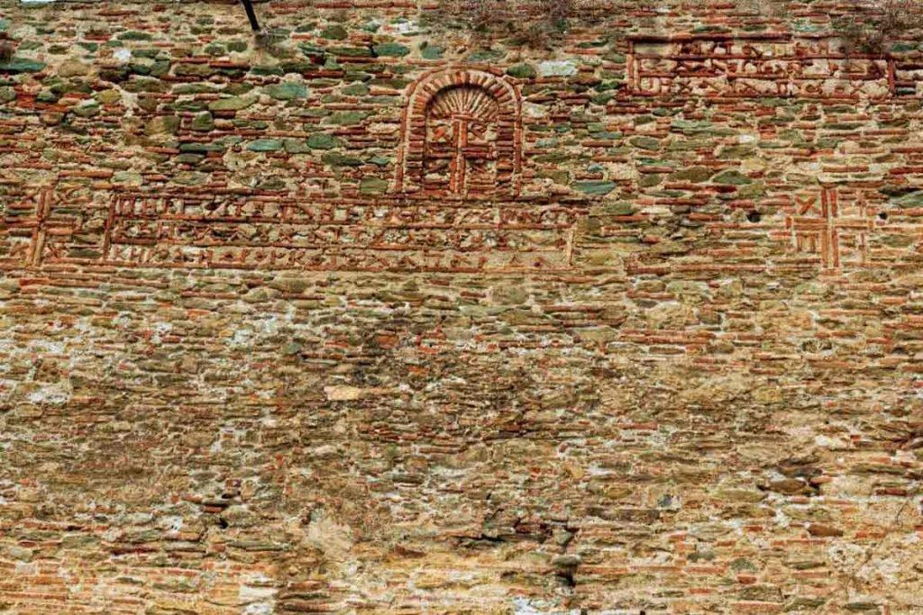 крепостные стены города салоники