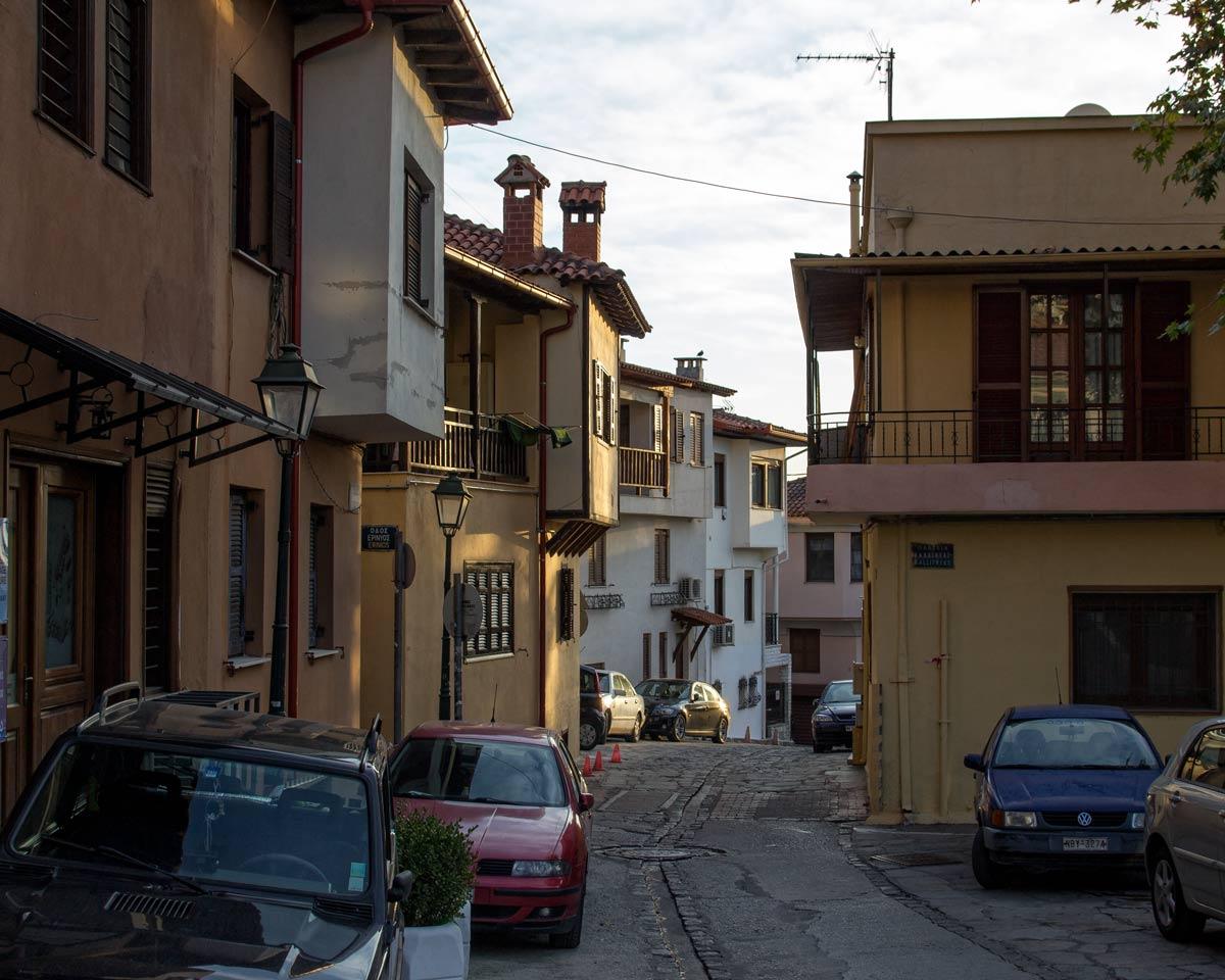 верхний город Салоники, Ано поли, достопримечательности Салоники