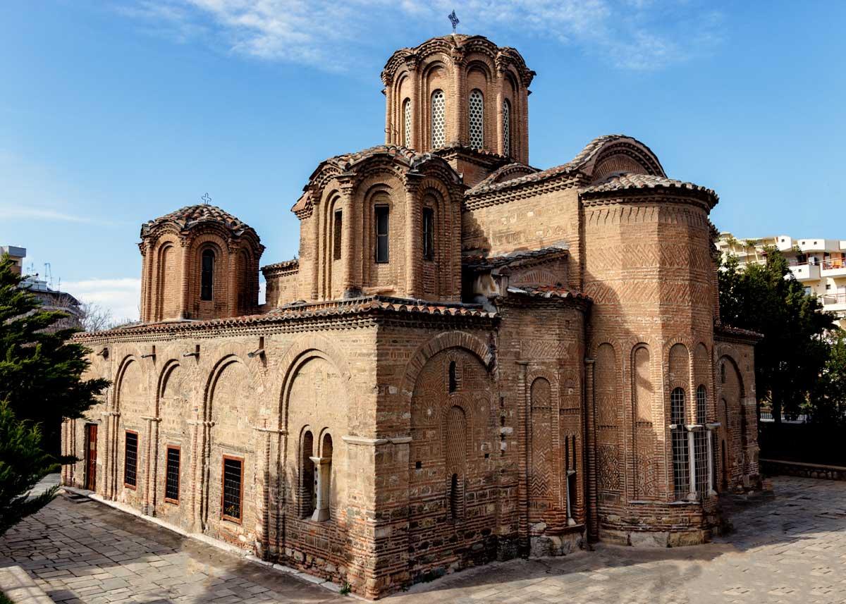 храм 12 апостолов, Салоники