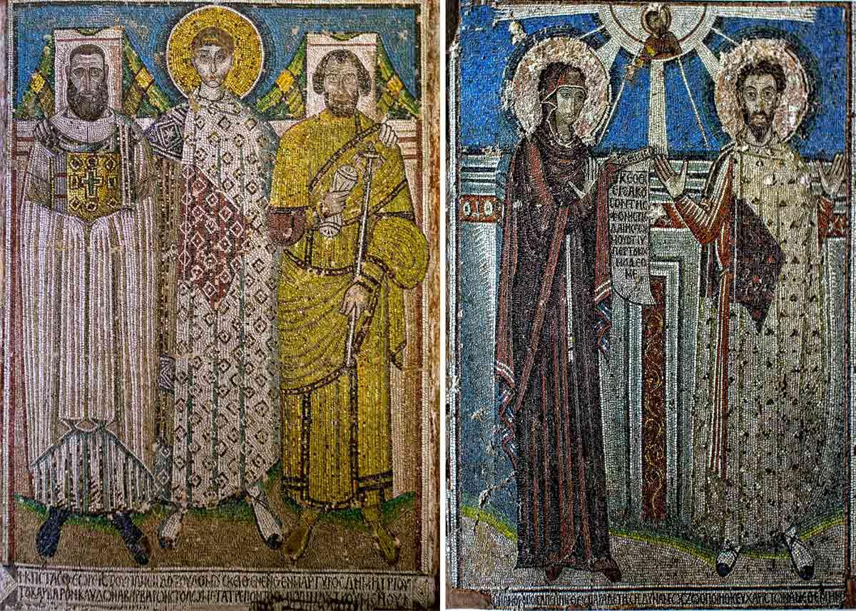 Мозаика базилики Димитрия Солунского