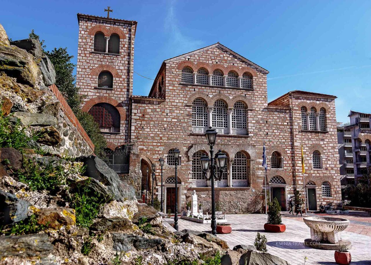 Базилика святого великомученика Димитрия, Салоники