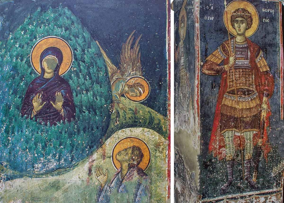 Фрески храма Николая Орфаноса