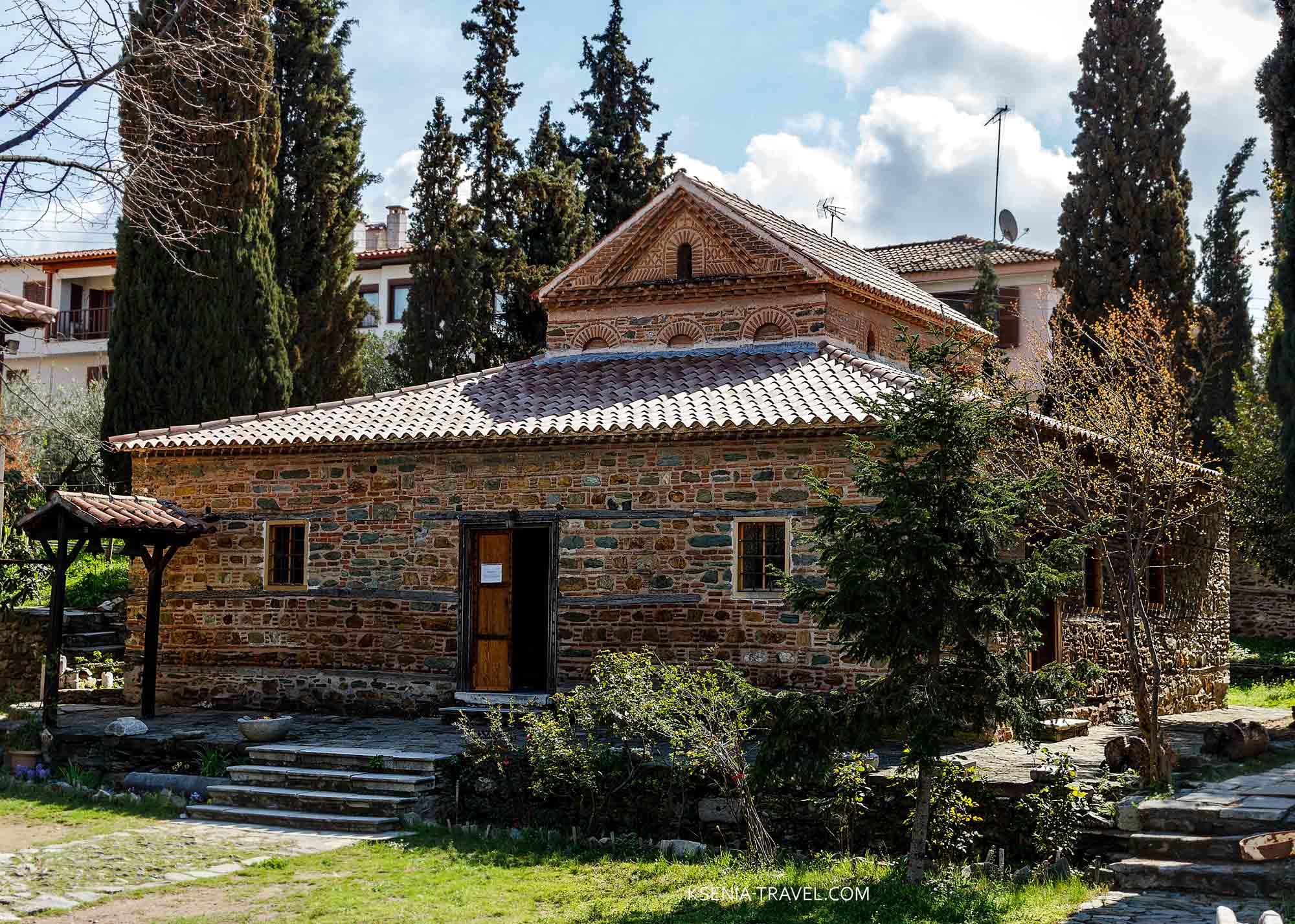 Церковь святого Николая Орфаноса, святыни Салоники