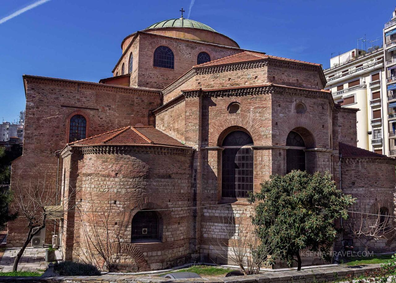 Храм Святой Софии, Святыни Салоники