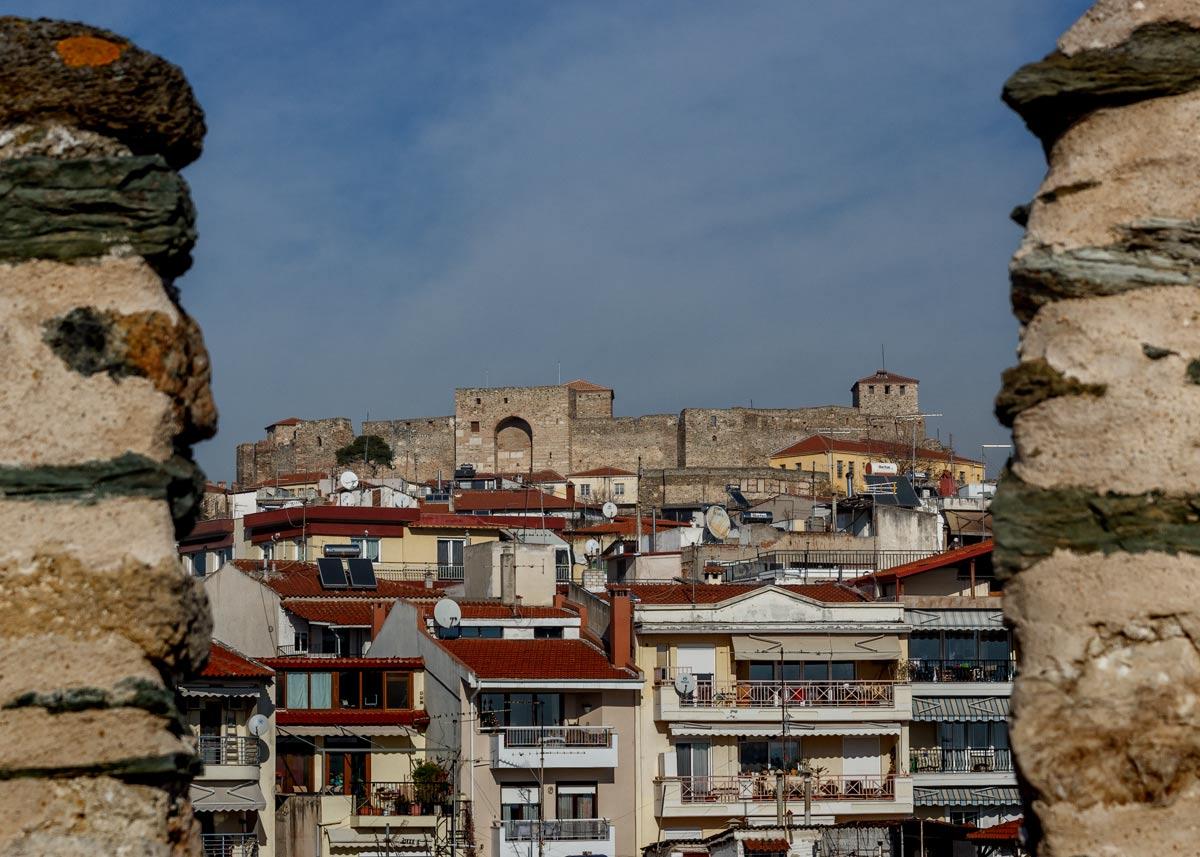 Крепостные стены Акрополя