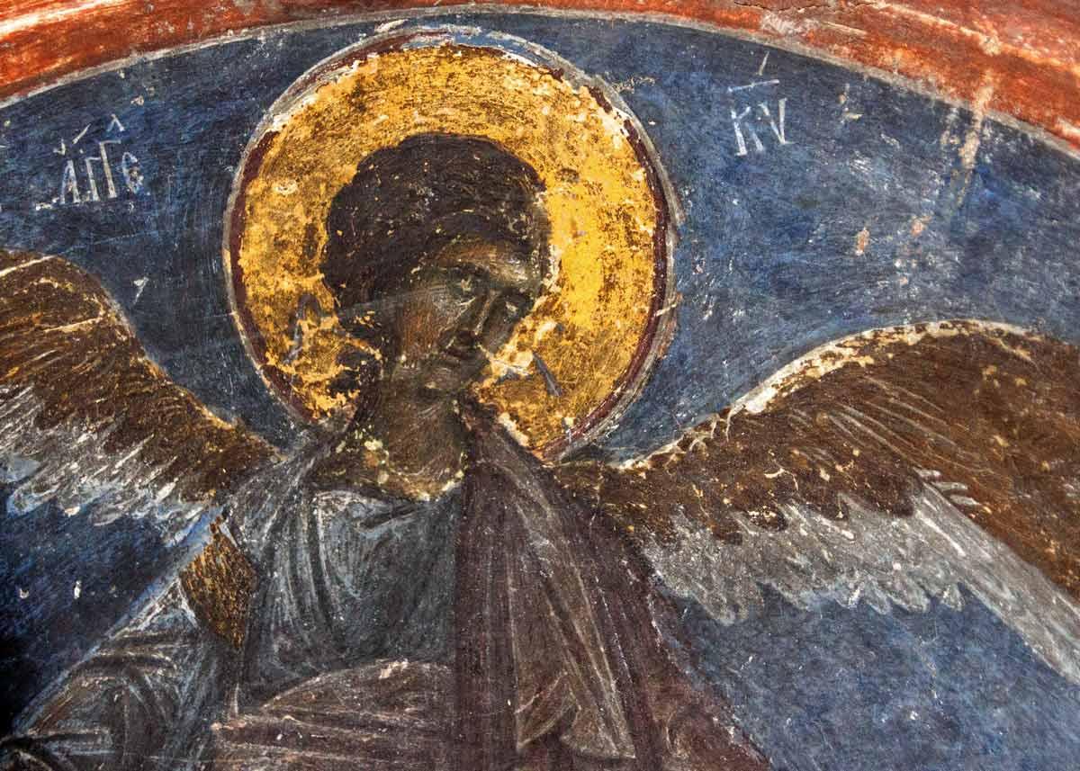 фрески монастыря Влатадон