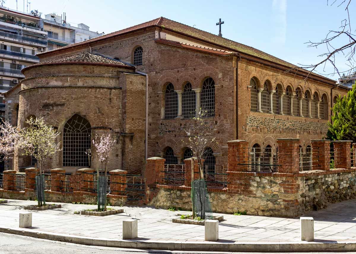 базилика Ахиропиитос, Салоники