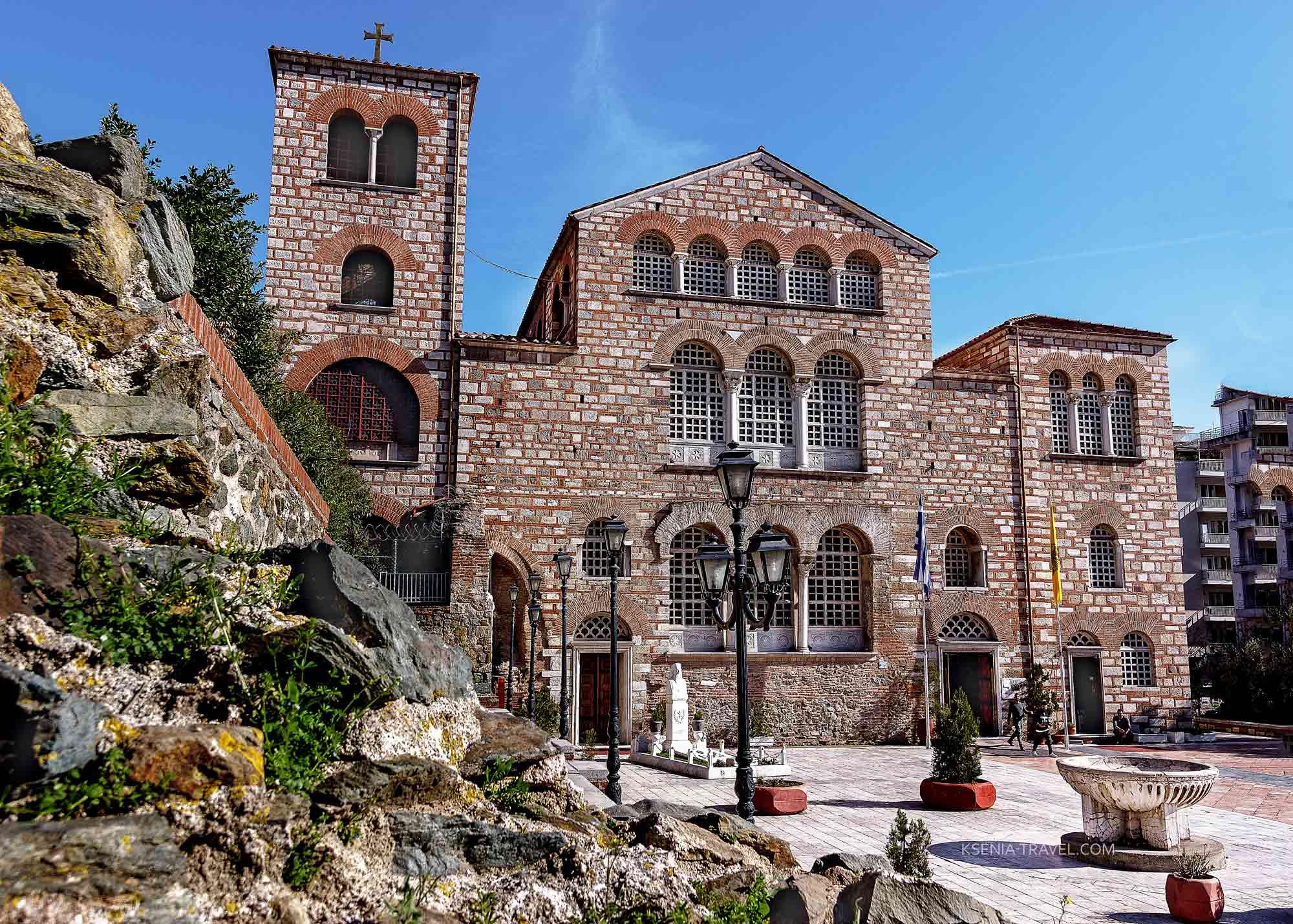 Базилика Святого Димитрия, Салоники