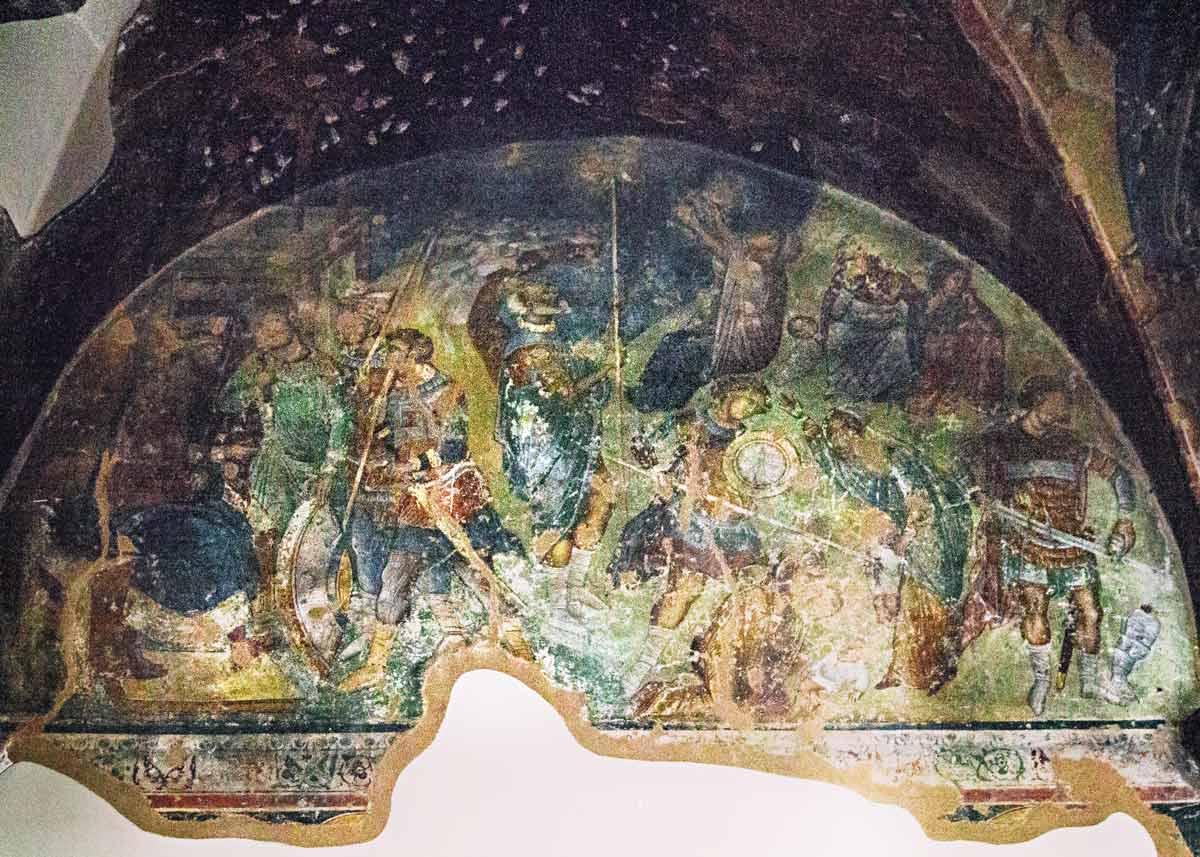 фрески храма пророка Ильи, достопримечательности Салоники