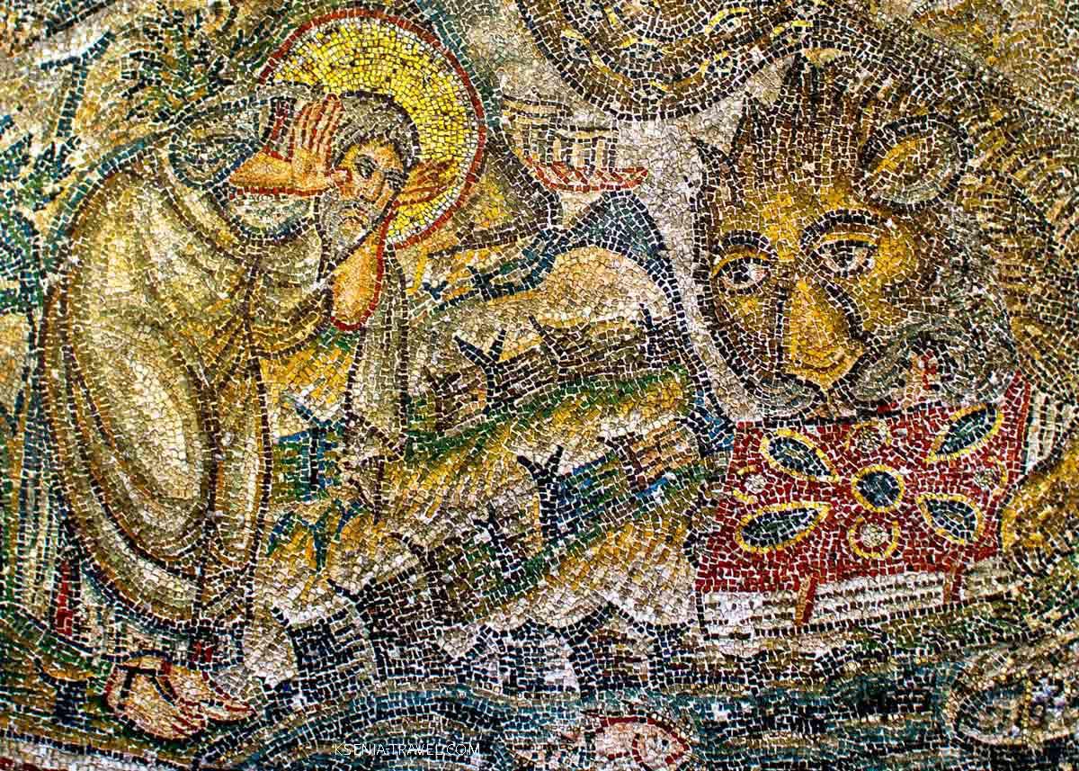 Мозаика церкви святого Давида в Салониках