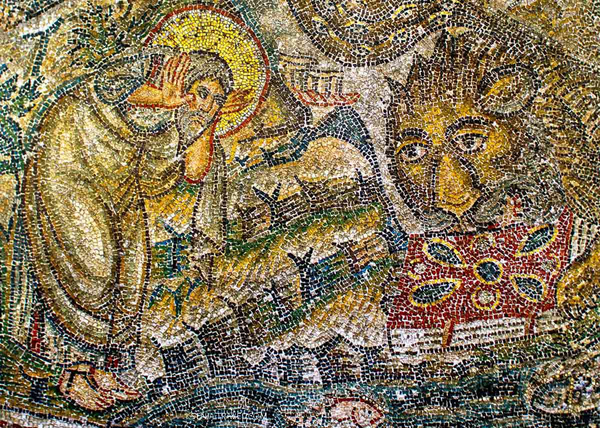 мозаика салоники