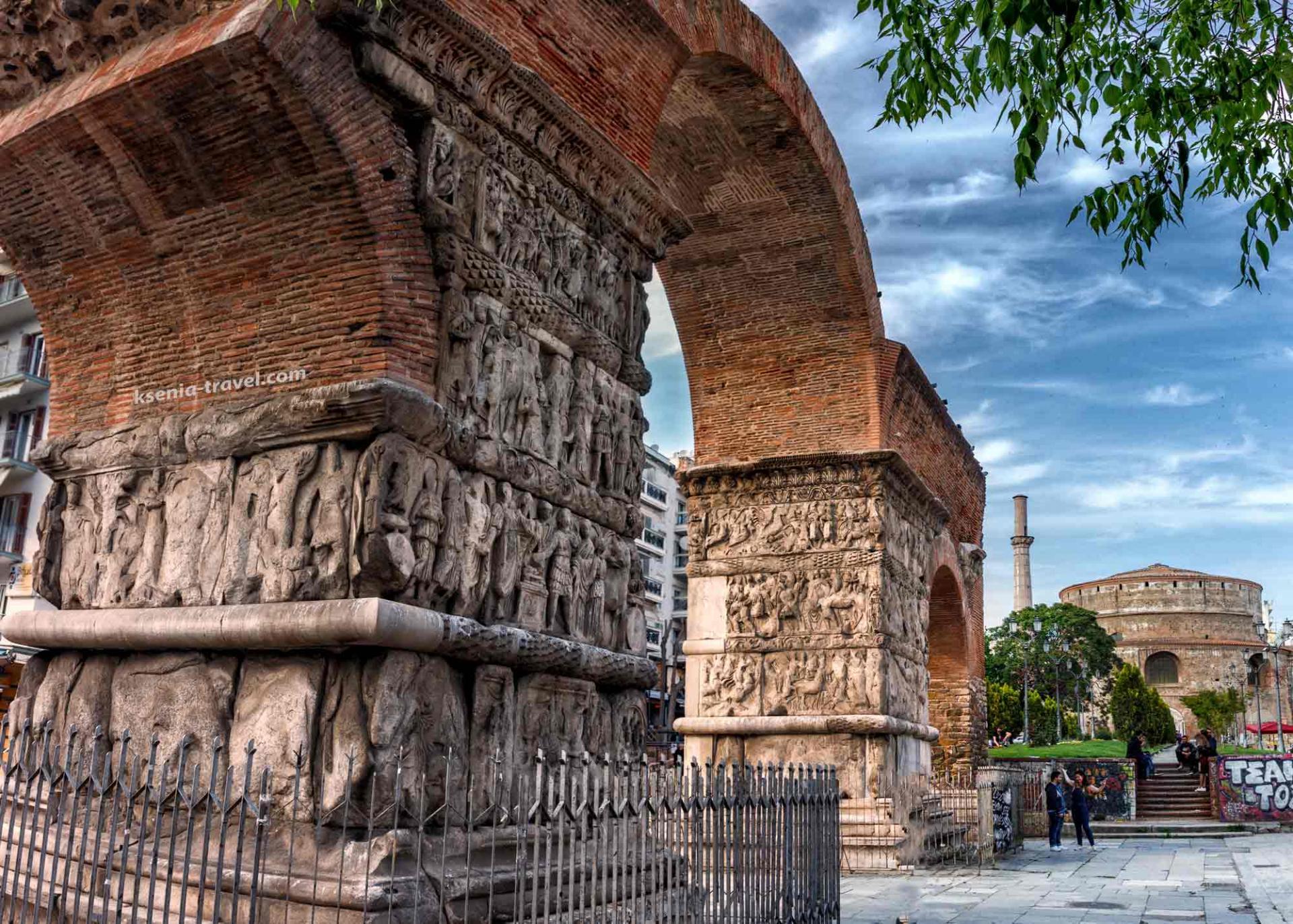 Популярные достопримечательности города Салоники
