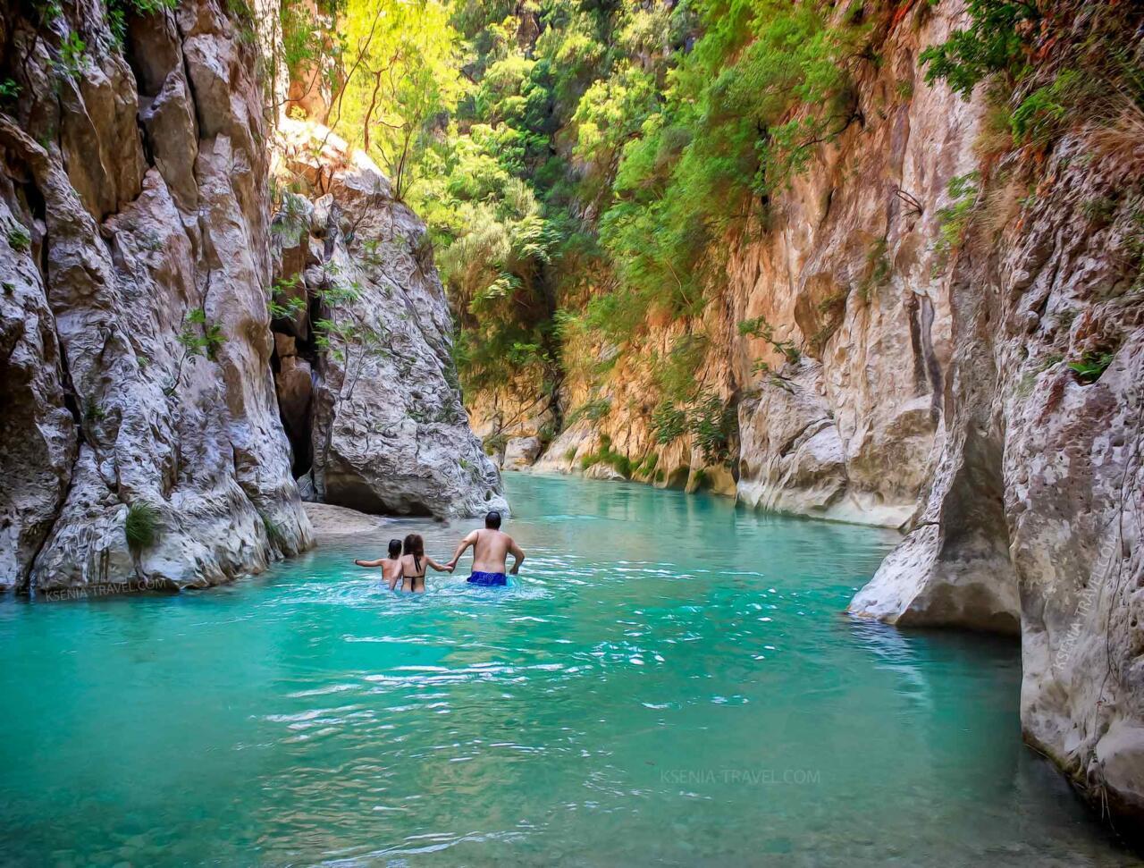 Ахерон-река скорби, экскурсии в Греции
