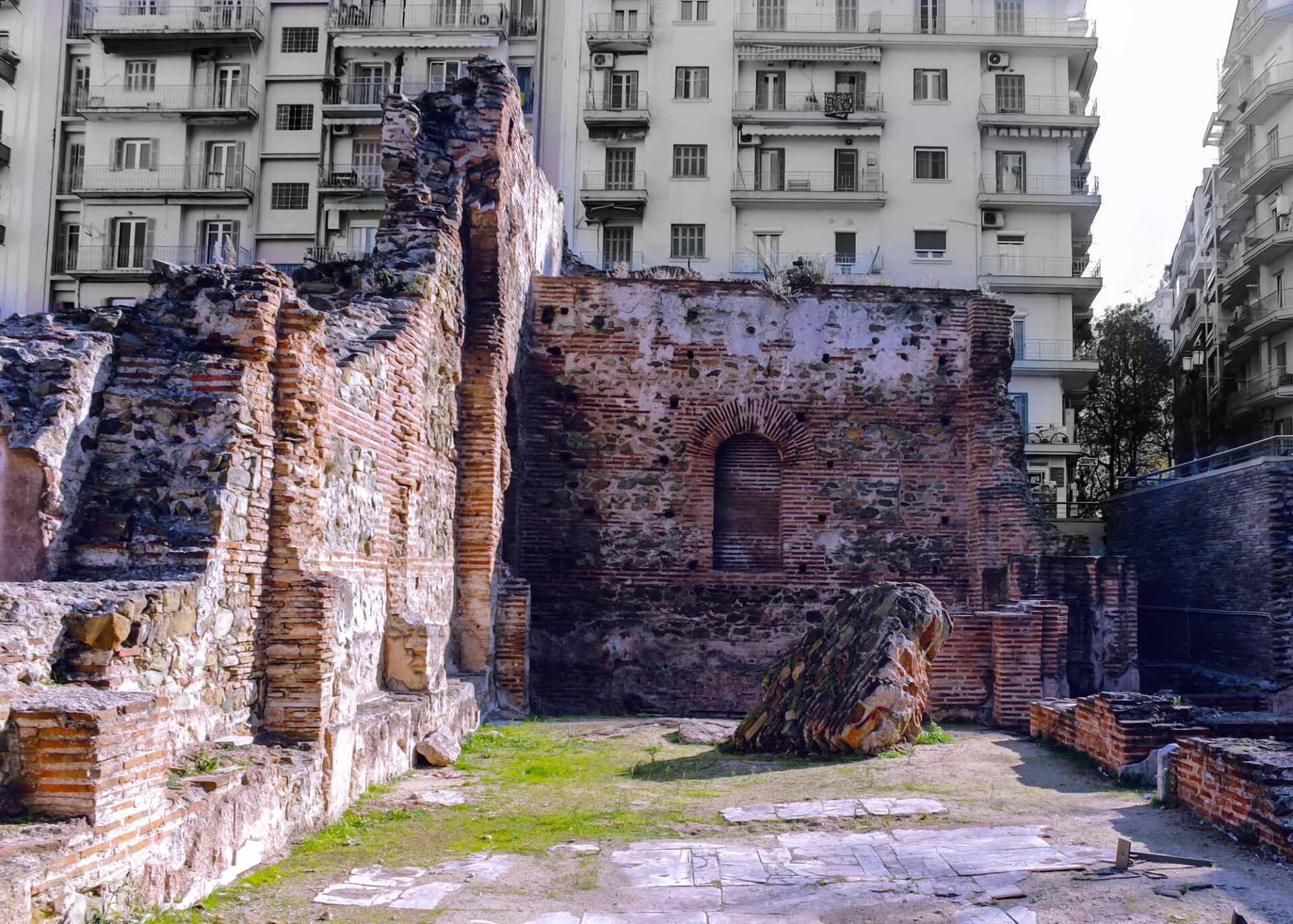 Термы дворца императора Галерия