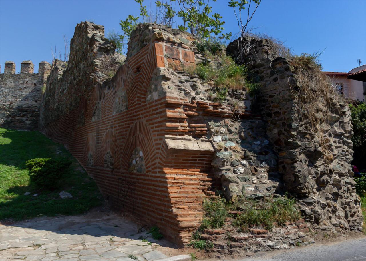 крепостная стена, достопримечательности Салоники, экскурсии с русскоязычным гидом по Салоникам
