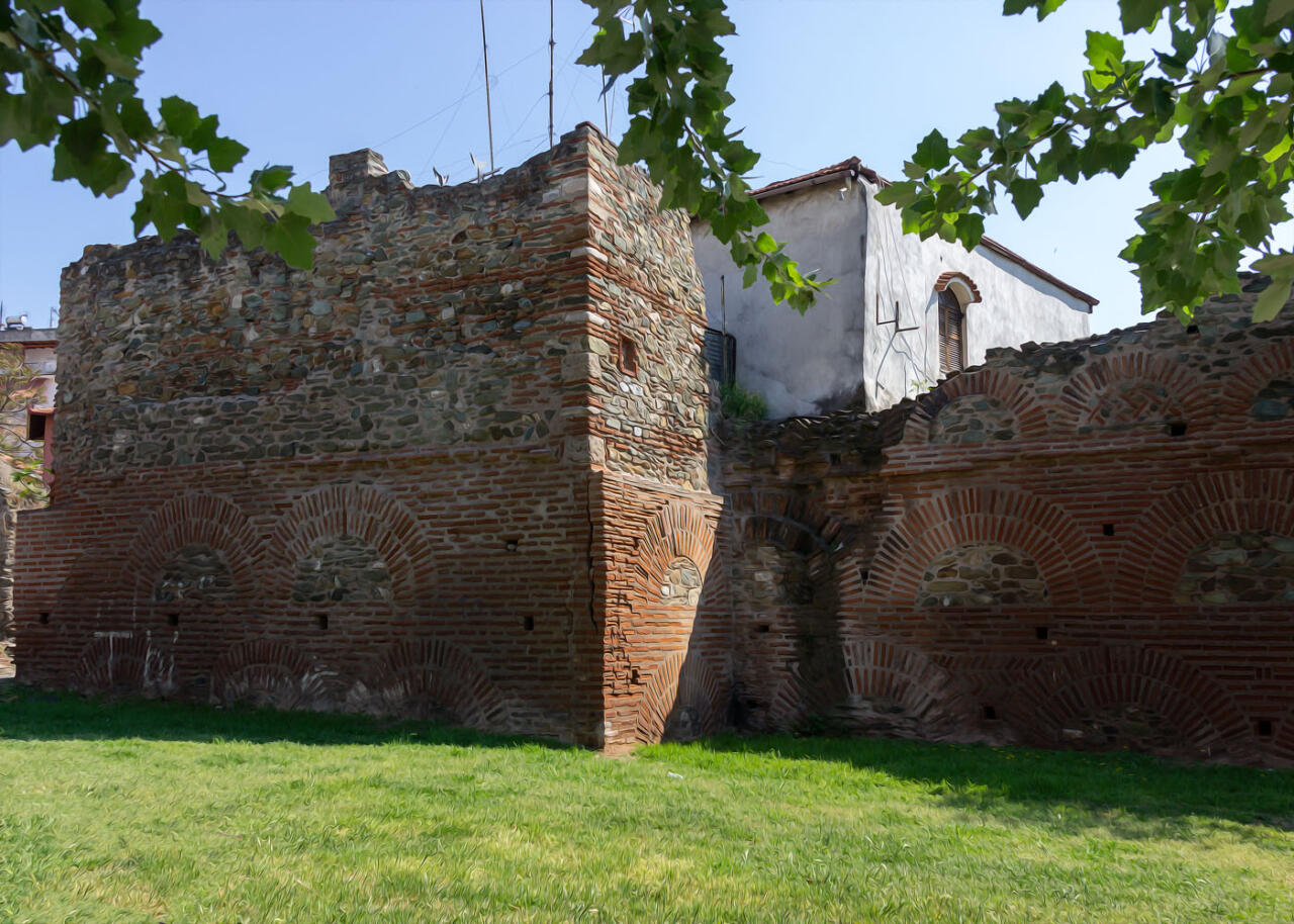 крепостная стена, достопримечательности Салоники, экскурсии с гидом по Салоникам