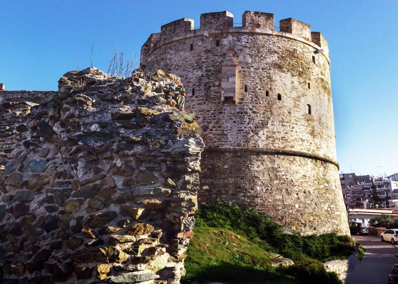 Башня Тригониу - северовосточная оконечность крепостной стены