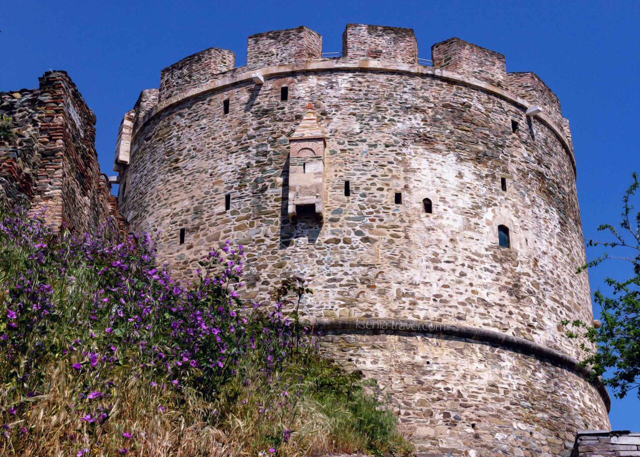 башня тригониу в Салониках, Греция